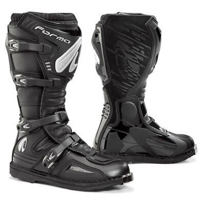 motocross boots | Forma Terrain Evo black tech offroad motorcycle dirt bike mx