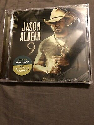 Jason Aldean 9 CD Album 2019 Physical Factory Sealed BRAND NEW Nine CRACKED CASE
