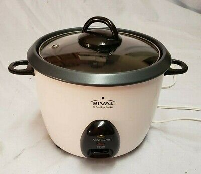 Rival 10 Cup Rice Cooker / Steamer - Model RC101
