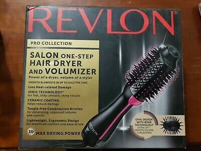 Revlon Pro Collection Salon One-Step Hair Dryer and Volumizer Cool Tip