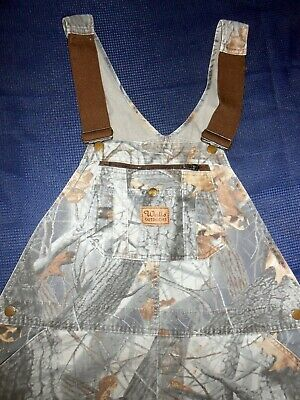 WALLS Outdoors Camouflage Hunting Bibs Realtree Hardwoods Mens M