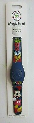 Disney World Parks Icons Mickey Mouse 2020 Magic Band Magicband LR New UNLINKED!