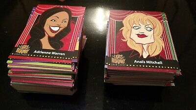 Lights of Broadway cards 2019 edition - random lot of 30 PLUS out-of-pack card!