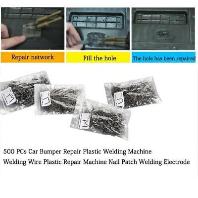 Hot Repair Car Plastic Welder Staples For 500PCS Bumper 0.6/0.8mm Stapler Tools
