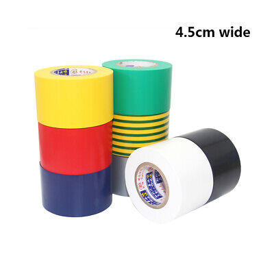 1pcs Electrical tape insulation tape PVC Waterproof Tape width 10mm long 18m
