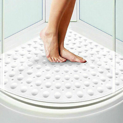 Bathsafe Sector Rubber Corner Shower Mat Anti-slip Quadrant Bath Mat Anti-Bacter