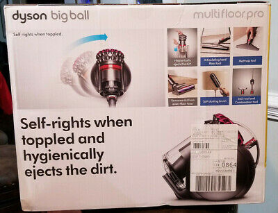 Brand New Dyson Big Ball Multi Floor Pro Canister Vacuum Cleaner DC39 Fuschia