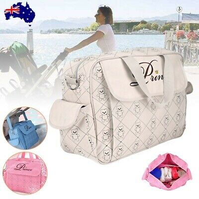 Baby Diaper Nappy Mummy Changing Handbag Shoulder Bag with Mat Multifunction
