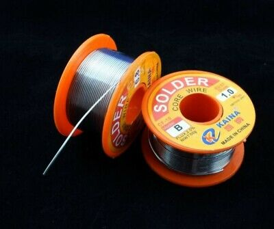 Lead Free Solder Wire Sn99.3 Cu0.7 Rosin Core for Electronic 100g/3.5oz 1mm