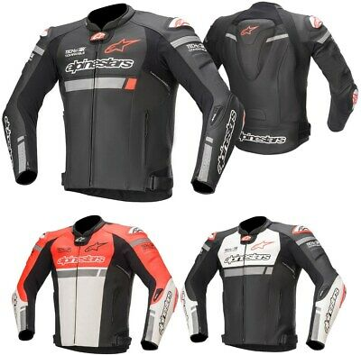 Alpinestars Missile Ignition Motorradjacke Tech-Air-e® kompatibel Sommer Leder