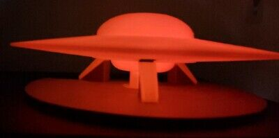 C-57D Flying Saucer/UFO (from Forbidden Planet) - LARGE Glow In the Dark!