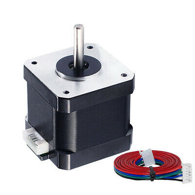 1/2/3X 3D Printer Parts 4 Leads 1.2A 12V Nema 17 Seated 42 Stepper Motor Durable