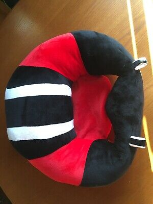 Baby Sit Me Up Aid Soft Cushion Seat Red Black and White