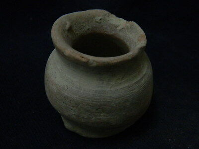 Ancient Teracotta Pot Indus Valley 1000 BC No Reserve #SG8843