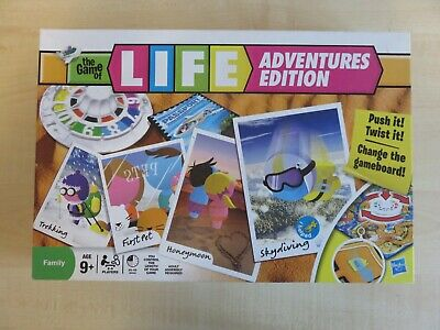 The Game of Life Adventures Edition Hasbro. VGC.