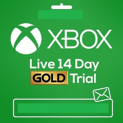 Xbox Live Gold 14 Day Trial Code
