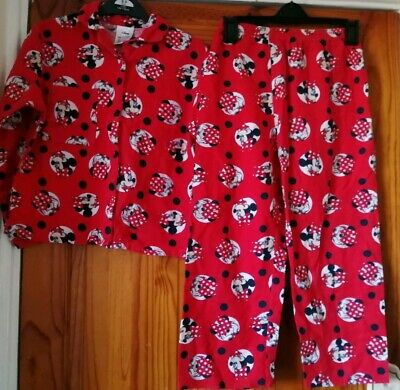 Girls aged 7-8 Minnie Mouse Pyjamas