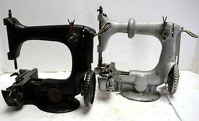 Vintage SINGER 24-14 Antique Chainstitch Industrial Sewing Machine Head Only