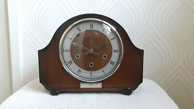 Smiths Westminster Chime Mantel Clock in perfect working order