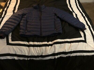 POLO RALPH LAUREN Mens Quilted Packable Puffer Down Jacket Large NWT $228