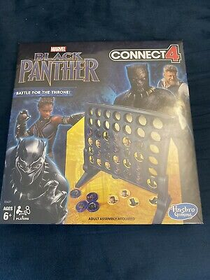 Connect 4 Marvel Hasbro Game: Black Panther Edition