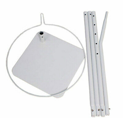 Baby Crib Cot Bed Floor Stand Bracket Holder for Hanging Net Metal Stand Frame