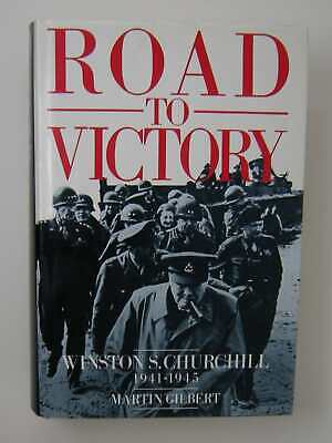 Road to Victory: Winston S. Churchill 1941-1945 [Hardcover, 1986] Gilbert, Mar..