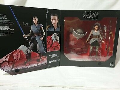 Star Wars The Last Jedi The Black Series Rey (Jedi Training) Crait