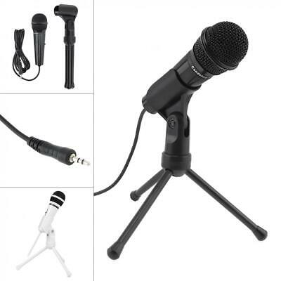 Condenser Microphone Sound Recording Audio Studio Brocasting with Tripod Stand