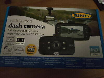 """Ring Rbgdc50 Compact Hd Dash Camera With 2.7"""" Screen"""