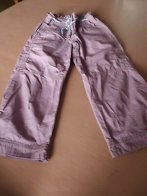 Girls M&S Limited Collection Cropped trousers - age 10 - Worn 6 times