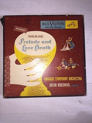 Rca Victor Red Seal Records Tristan And Isolde Prelude And Love Death 45 RPM