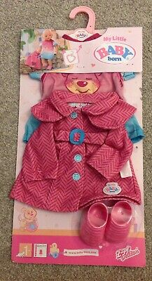 New - Zapf Creations - My Little Baby Born Fashion Collection Set - Clothes
