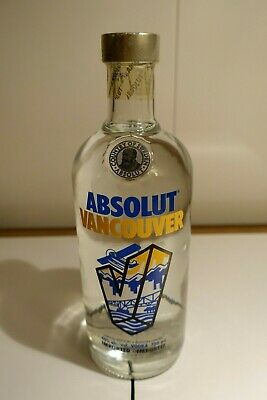 Absolut Vodka Vancouver USA Edition 750ml