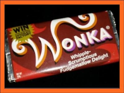 large wonka bar real chocolate comes with Golden ticket