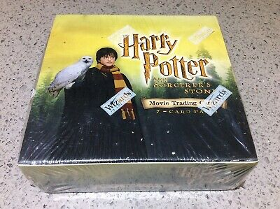 Harry Potter Sorcerers Stone WOTC/Wizards Movie Trading Cards - NEW/SEALED BOX