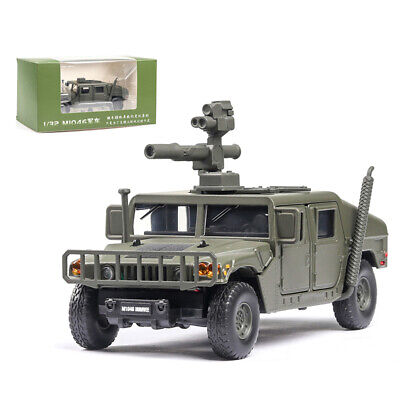 1:32 HMMWV M1046 Humvee Military Force Vehicle Model Car Diecast Gift Toy Green