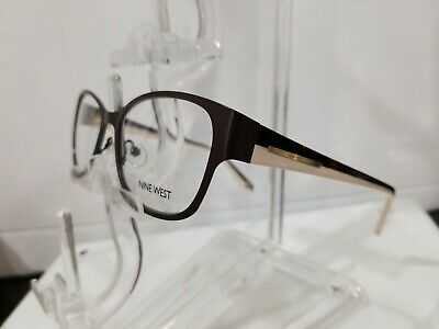 NINE WEST NW1061 210 black front white Tortoise temple 51-135-17 metal frame