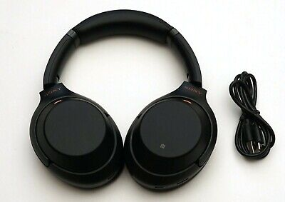 Sony WH-1000XM3 Wireless Noise Cancelling Stereo Headphones Black WH1000XM3
