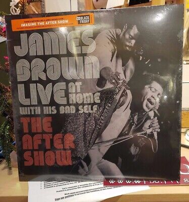 James Brown Live At Home With His Bad Self The After Show RSD 2019 Vinyl