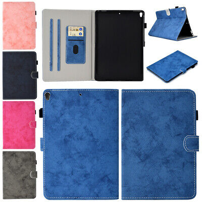 """For iPad 10.2"""" 2019 7th Gen Smart Wallet Leather Slim Flip Magnetic Case Cover"""