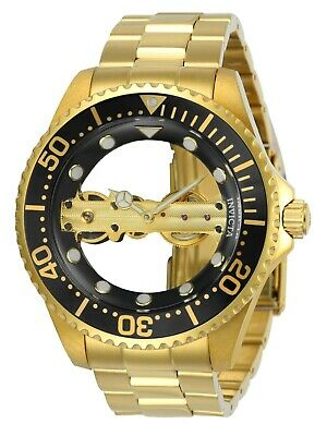 Invicta Men's 24694 Pro Diver Gold Stainless Steel Band Mechanical Watch