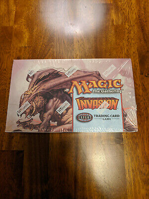 Invasion Booster Box Factory Sealed English MTG Magic The Gathering