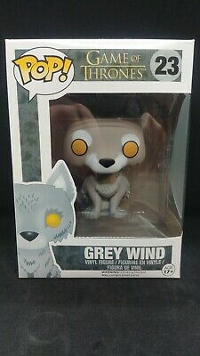 Funko POP! Game of Thrones Grey Wind #23 w/ Protector