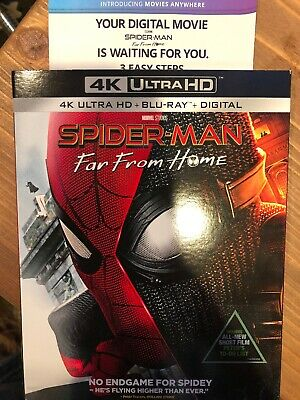 Spider-Man: Far From Home (2019, 4K Ultra HD Digital Only) No Discs