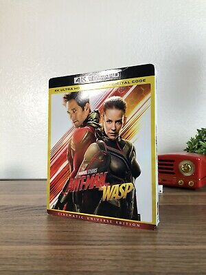 Ant-Man and the Wasp 4K Blu-Ray 2-Disc Set