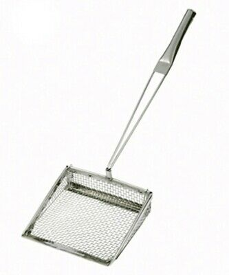 "* Chip Shovel 200 X 200mm Scoop Stainless Steel Fryer Utensil 8"" Handle 63:21"