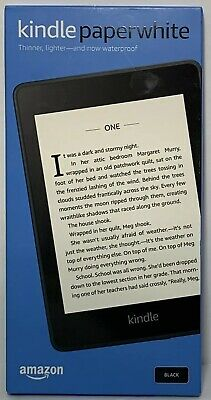 All-new Kindle Paperwhite Waterproof with 8GB Storage Includes Special BLACK