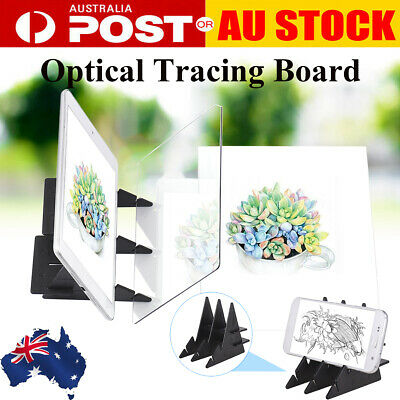 Portable Optical Drawing Art Projector Sketch Tracing Drawing Paint Tool AU W7O4
