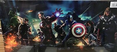 """MARVEL AVENGERS CAPTAIN AMERICA WALL CANVAS 48"""" x20""""X LARGE"""